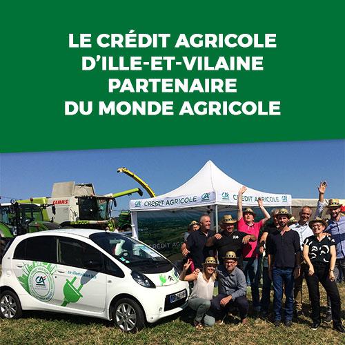 Le Crédit Agricole d'Ille-et-Vilaine partenaire du monde agricole